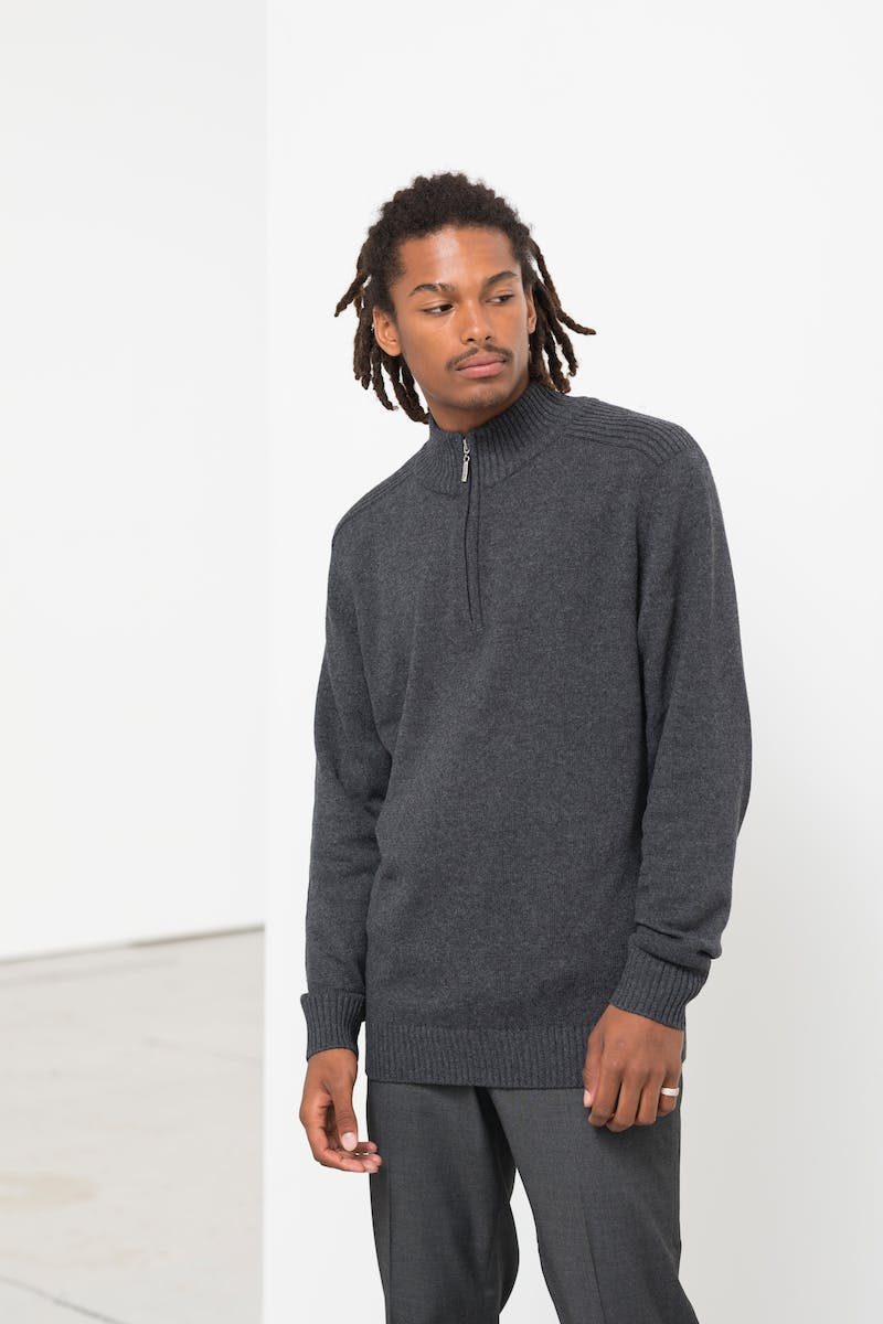 Wakhan 1/4 Zip Re-gen Sweater